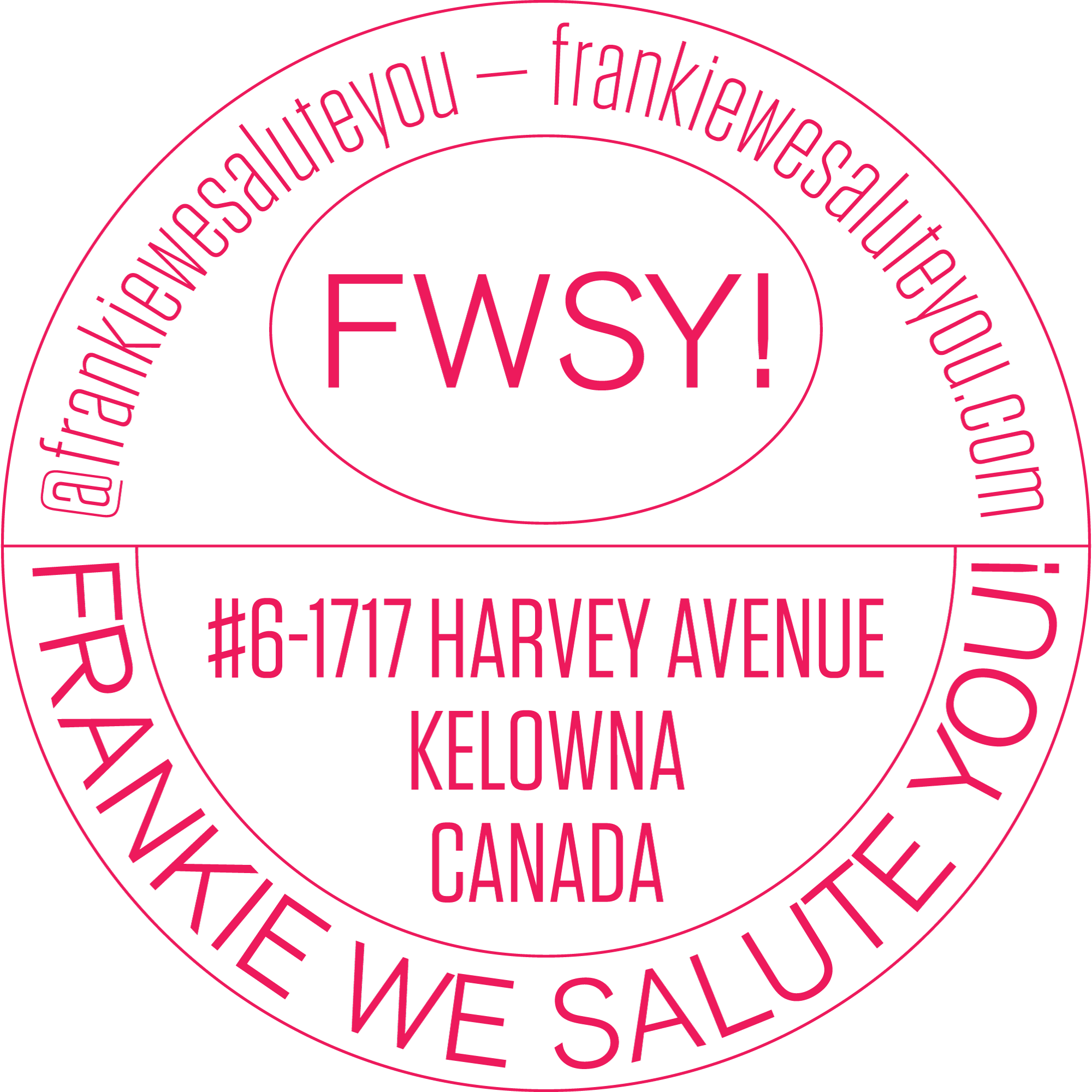 Frankie We Salute You