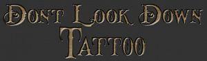 Don't Look Down Tattoo